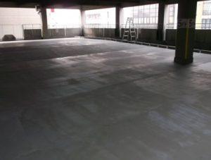 コンクリート改質剤「FD-15」の使用現場